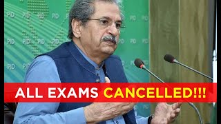 All Exams Are Cancelled Across Pakistan | Interpreted In Sign Language for Deaf People