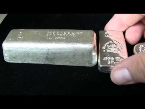 Vintage Golden Analytical Silver Bar Unboxing - from Monarch Precious Metals