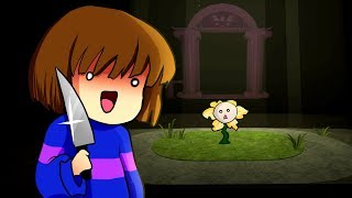 FRISK GOES CRAZY! Funny Cinematic Undertale AU Animation Roleplay