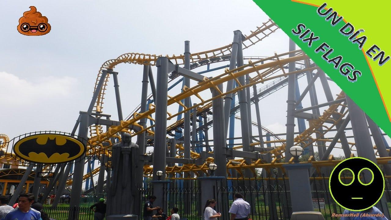 Un Dia En Six Flags Mexico Juegos Extremos Ramsarhell Youtube