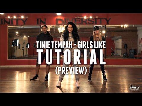 Dance Tutorial [Preview] - Girls Like - Tinie Tempah ft Zara Larsson - Eden Shabtai Choreography