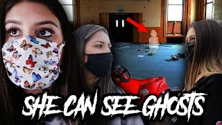 POWERFUL MEDIUM HELPS US FIND OUT WHAT HAPPENED... (HAUNTED SCHOOL)