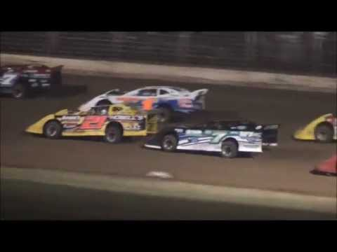 Late Model Feature From Portsmouth Raceway Park, 7/20/13.
