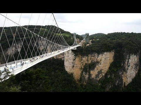 冠絕全球-離地 300 米玻璃橋「雲天渡」正式啟用