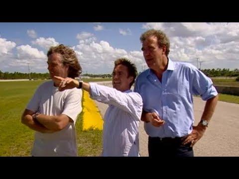 US Road Trip: Lap & Braking challenge - Top Gear - BBC