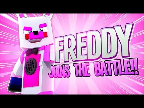 Funtime Freddy in Super Smash Bros Ultimate ?! | Minecraft FNAF Roleplay