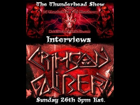 Crimson Caliber Live Radio Interview on The Thunderhead Show