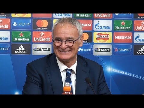 Leicester 1-0 Porto - Claudio Ranieri Full Post Match Press Conference