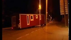 Talovaunu kuljetus, mobile homes transport, static caravan, mobile homes,villavagnar,husvogn