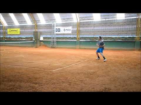 ENTRENO 24 12 2017 COSTA RICA TENNIS&GYM ENTRENADOR RODRIGO ROMERO