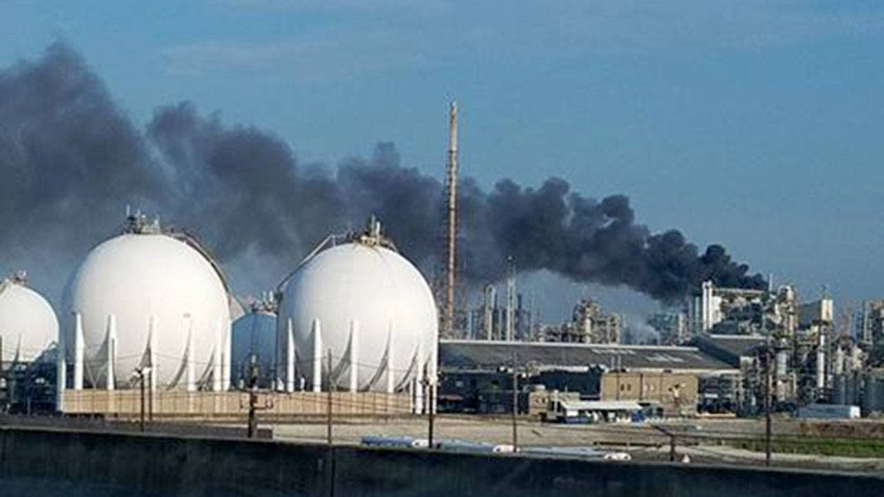 Hexion plant fire prompts shelter-in-place in Deer Park