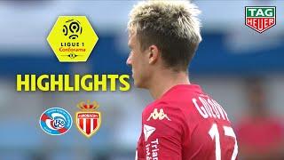 RC Strasbourg Alsace - AS Monaco ( 2-2 ) - Highlights - (RCSA - ASM) / 2019-20