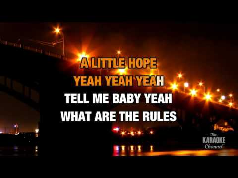 Can't Get You Off My Mind in the style of Lenny Kravitz | Karaoke with Lyrics