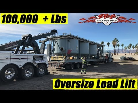 Oversize Load - Load Shift    Heavy Duty Towing Ride Along Ep 190
