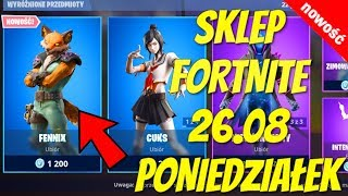 FORTNITE 26.08 STORE-NEW SKIN Fennix FOX, Colcoklon, Cuks, infinite, intensity, chapmaster