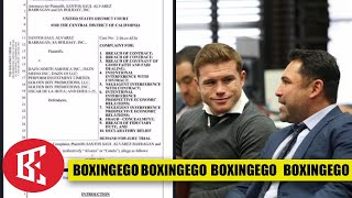 (WOW!) CANELO SUING GOLDEN BOY, DAZN, AND OSCAR FOR NEARLY $300M