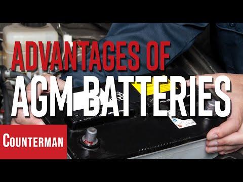 Advantages Of AGM Batteries