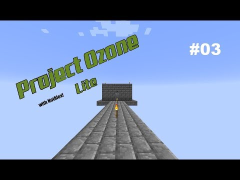 Project Ozone Lite Epp #03 Sword workout & mob farm!