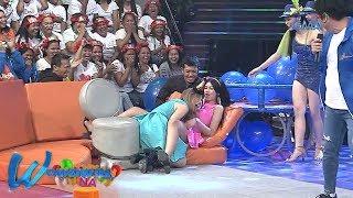 Wowowin: 'Sexy Hipon' Herlene at Almira Teng, kumasa sa 'Putukan Na!'