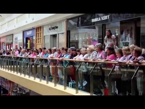 Irish Performing Arts Festival 2013 - Flash Mob In Mahon Point Shopping Centre
