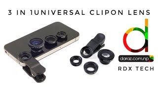 3 in 1 Universal Clip Lens For Smartphones -REVIEW 2017
