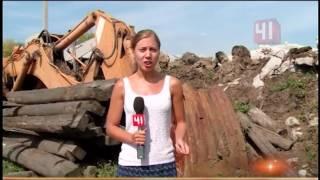 видео Снесли новый незаконный многоквартирный дом