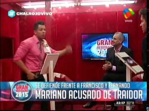 """""""Gran Hermano 2015"""": El """"cara a cara"""" de Mariano contra Francisco y Fernando"""