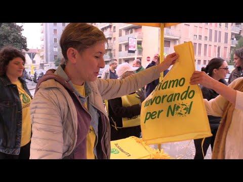 #oggiraccolgoio con Repubblica e Legambiente: a Milano raccolti 370 chili di rifiuti
