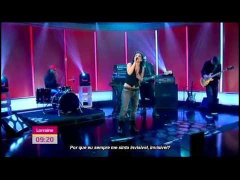 Skylar Grey - Invisible (live @ Lorraine) | Legendado Em Pt-BR