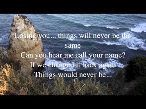 Never be the same again lyrics