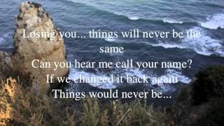 Roxette - Things will never be the same (lyrics on screen)