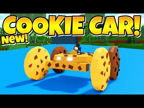 NEW COOKIE CAR IN Build A Boat!