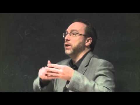 Jimmy Wales on Wikipedia