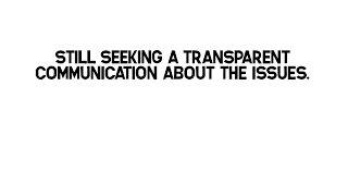 Jeff Borchardt continues avoiding any transparent conversation