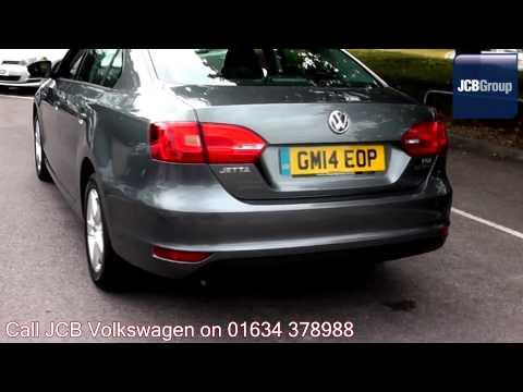 2014 Volkswagen Jetta SE 1.6l Platinum Grey Metallic GM14EOP for sale at JCB VW Medway
