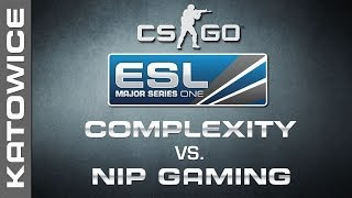 compLexity vs. NiP Gaming - Quarterfinal 2/2 - EMS One Katowice 2014 - CS:GO
