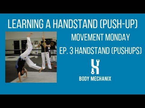 5 steps to a Handstand(Push up)