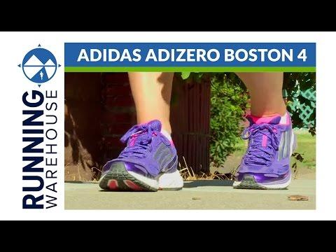 Adidas Adizero Boston 4 RW Shoe Review