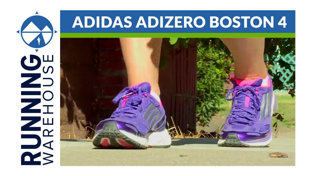 Adidas Adizero Boston 4 RW Shoe Review - YouTube eedf005be