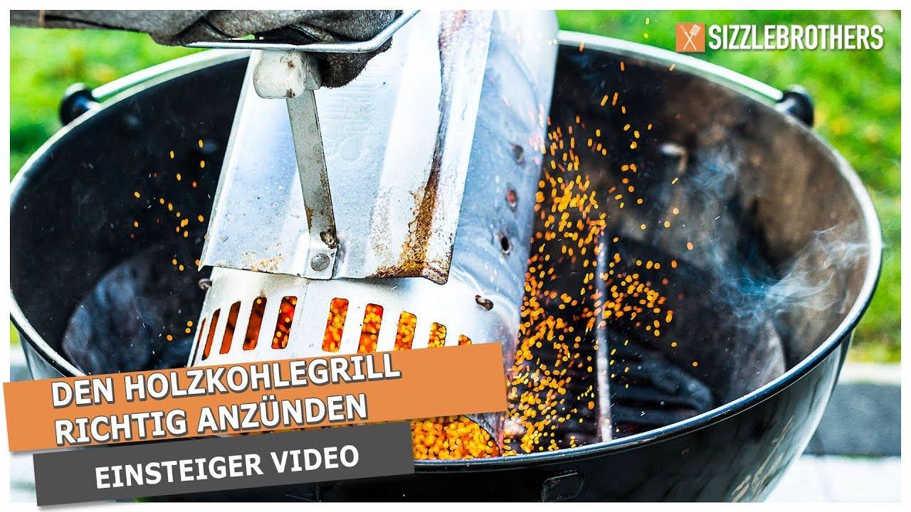 Florabest Holzkohlegrill Anleitung : Holzkohlegrill richtig anzünden das einsteiger tutorial youtube