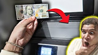 What Happens If You Photocopy MONEY..? **SHOCKING**