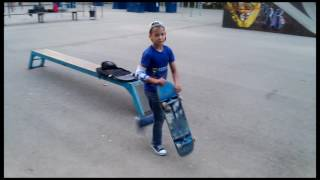 скейт 9 лет 2016 скейтбординг трюки skate спорт sport