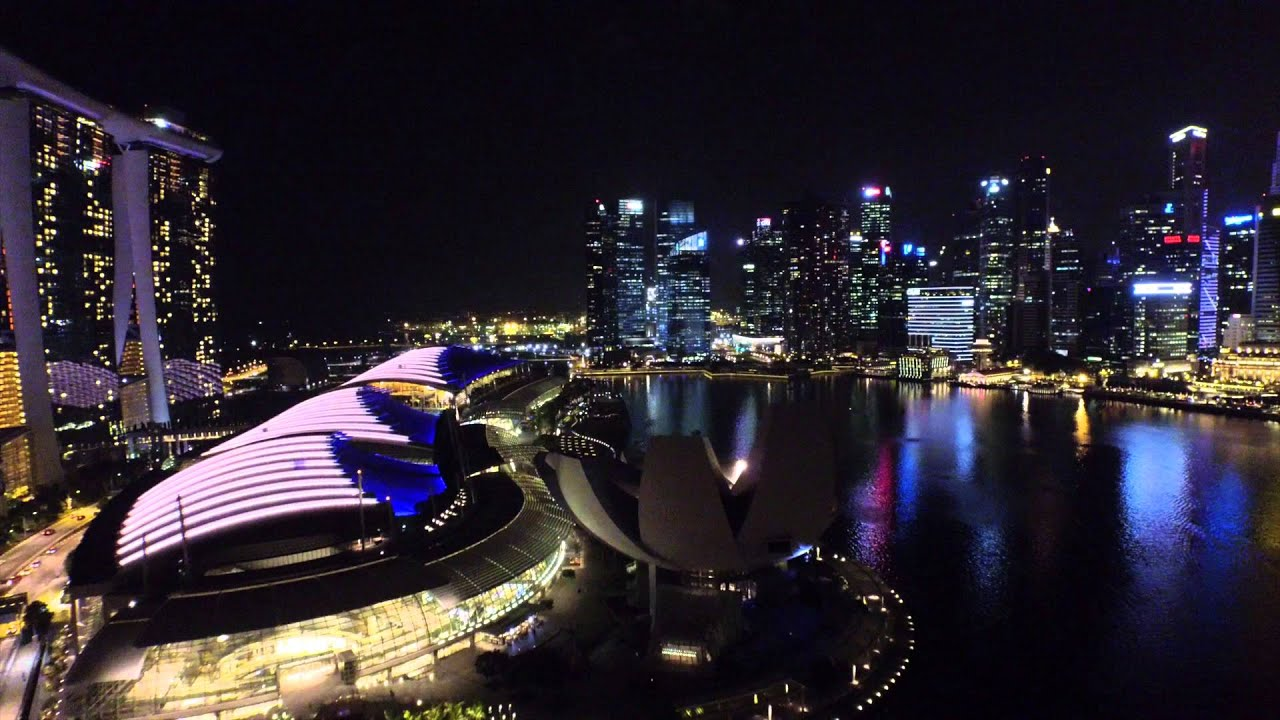 dji inspire 1 singapore night youtube