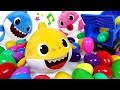 Eggs gift has arrived ! Pinkfong Baby Shark Dance and Sing Surprise eggs ~! - PinkyPopTOY