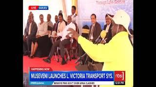 Teacher Mpamire vs Ugandan President Yoweri Museveni.