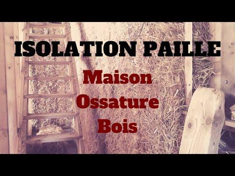 Isolation Paille d'une Maison Ossature Bois