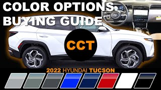 2022 Hyundai Tucson - Color Options Buying Guide