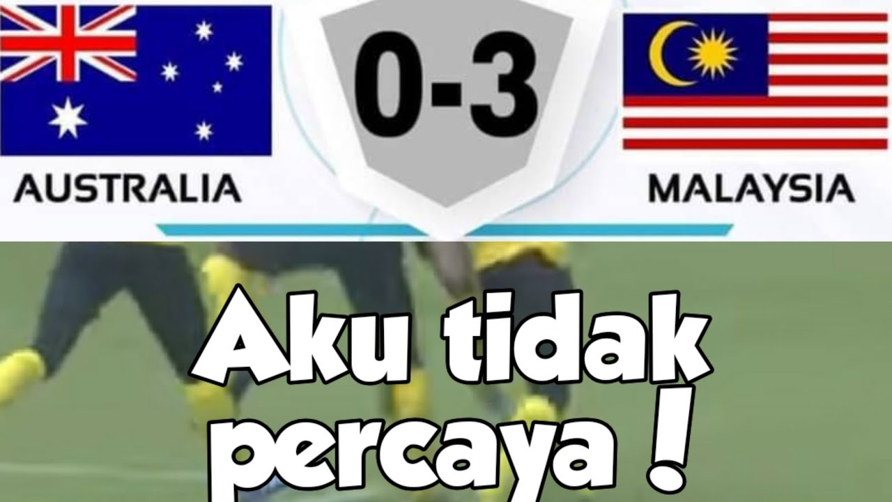 Download ( U18 AFF SUZUKI CUP2019)MALAYSIA 3 VS 0 AUSTRALIA( reaction Raje ridzuan khai