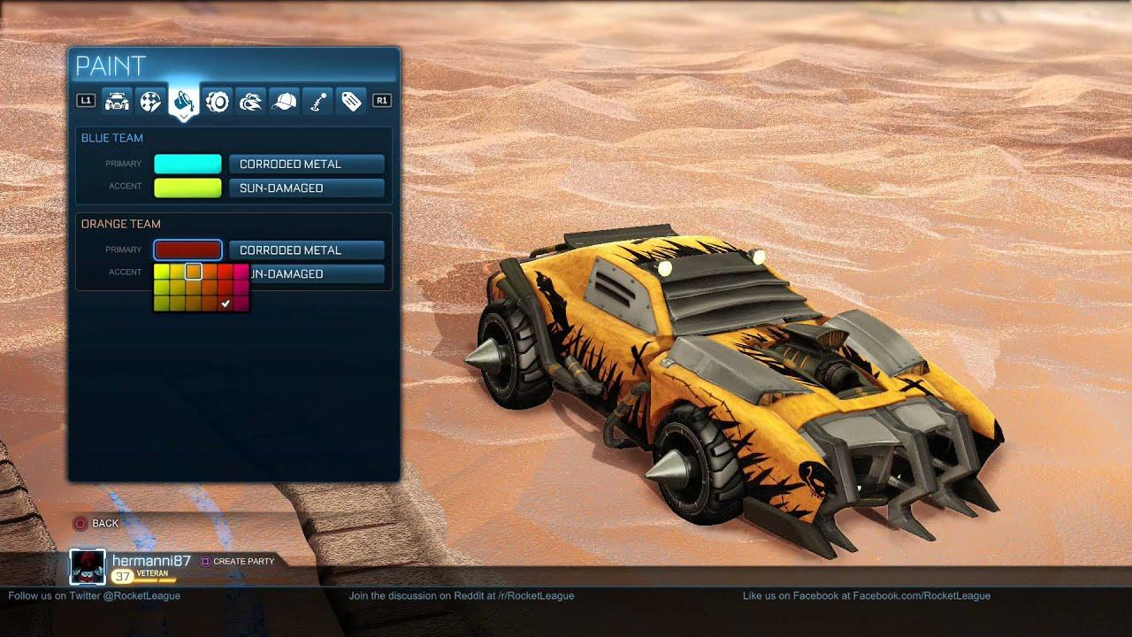 Ripper Best Car Rocket League