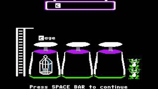 Apple II: MECC - Phonics Prime Time: Initial Consonants